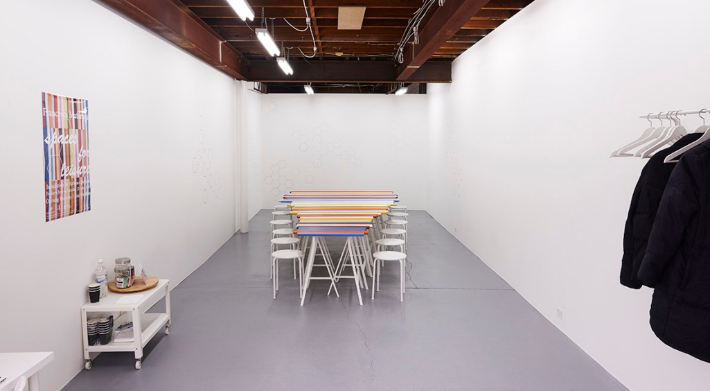 1. FMataraga Spaces for leisure (AirSpace) installation view 2014 2MB